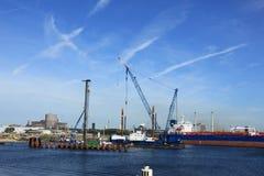 IJmuiden, στις 10 Σεπτεμβρίου 2016: η κλειδαριά παγκόσμιας μεγαλύτερη θάλασσας Στοκ φωτογραφία με δικαίωμα ελεύθερης χρήσης
