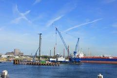 IJmuiden, στις 10 Σεπτεμβρίου 2016: η μεγαλύτερη κλειδαριά θάλασσας worldï ¿ ½ s Στοκ φωτογραφία με δικαίωμα ελεύθερης χρήσης