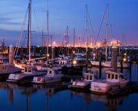 Ijmuiden harbour. Ijmuiden summertime Stock Photo