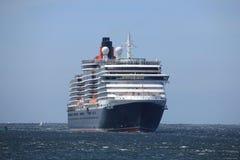 IJmuiden, los Países Bajos - 5 de junio de 2017: Reina Victoria, Cunard Imagen de archivo libre de regalías