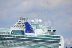 IJmuiden, the Netherlands -April 29th, 2017:   Ventura P & O Cruises Stock Images