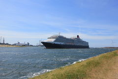 IJmuiden, The Netherlands - June 5th 2017: Queen Victoria, Cunard Royalty Free Stock Images