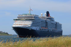 IJmuiden, The Netherlands - June 5th 2017: Queen Victoria, Cunard Stock Photo