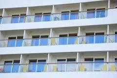 IJmuiden, The Netherlands - May 27, 2015: AIDAsol, cabins Royalty Free Stock Image