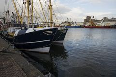 Ijmuiden, Olanda Settentrionale/Paesi Bassi - 15 novembre 2017: a Fotografia Stock Libera da Diritti