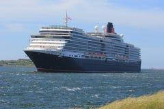 IJmuiden, Paesi Bassi - 5 giugno 2017: Regina Victoria, Cunard Fotografie Stock