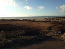 Ijmuiderslag. IJmuiden zee strand beach water sun Royalty Free Stock Photography