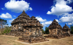 Ijo temple 1. Ijo temple (Indonesian: Candi Ijo) is a Hindu candi (temple) located 4 kilometers from Ratu Boko or around 18 kilometers east from Yogyakarta royalty free stock images