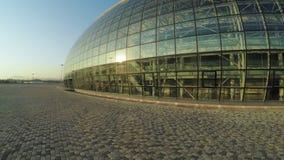 Ijs Groot Paleis in Olympisch Park stock videobeelden