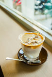 Ijs Latte stock fotografie