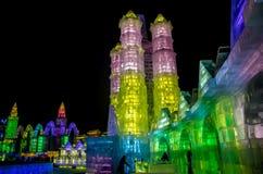 Ijs & sneeuwwereld Harbin China Royalty-vrije Stock Afbeeldingen