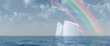 ijsberg royalty-vrije stock foto
