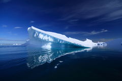Ijsberg in Antarctica Stock Afbeelding