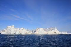 Ijsberg, Groenland royalty-vrije stock fotografie
