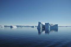 Ijsberg, Groenland Royalty-vrije Stock Foto's