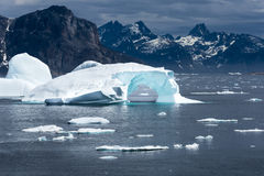 Ijsberg Groenland Stock Foto