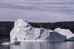 Ijsberg Groenland stock afbeelding