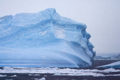 IJsberg, iceberg - a Antártica fotografia de stock