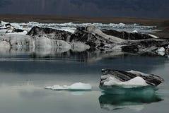 Ijsberg in IJsland Royalty-vrije Stock Foto's