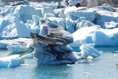 Ijsberg in IJsland Stock Foto's