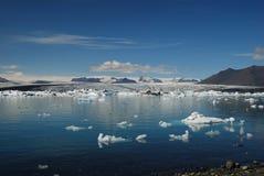 Ijsberg in IJsland Royalty-vrije Stock Foto