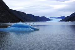 Ijsberg van een Gletsjer van Groenland Royalty-vrije Stock Foto's