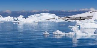 ijsbergen royalty-vrije stock fotografie