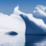 ijsbergen royalty-vrije stock afbeeldingen