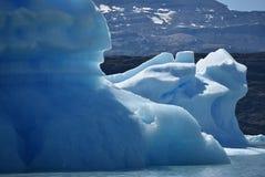 Ijsbergen in de gletsjer van Perito Moreno, stock foto