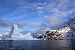 Ijsbergen - Groenland Royalty-vrije Stock Afbeelding