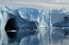 Ijsbergen in Groenland 7 stock foto's