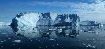 Ijsbergen in Groenland 8 stock fotografie