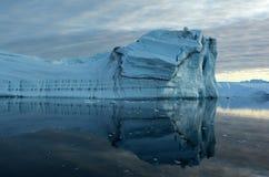 Ijsbergen in Groenland 9 stock afbeelding