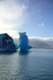Ijsbergen, IJsland Stock Foto's
