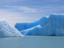 Ijsbergen in Lago Argentino Tierra del Fuego Stock Foto's