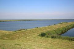 IJselmeer Dam Stock Photo
