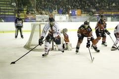 Ijshockey stock foto's