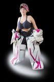 Ijshockey goalie royalty-vrije stock afbeelding