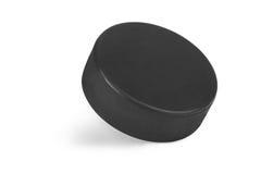 Ijshockeypuck stock foto