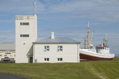 IJsland, Gardskagi Royalty-vrije Stock Foto's