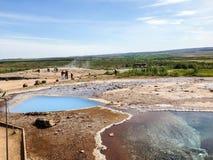 ijsland geology vulkanisme royalty-vrije stock afbeeldingen