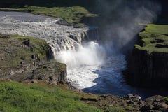IJsland - Hafragilsfoss Stock Afbeelding