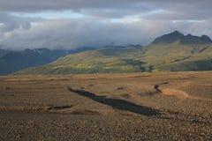 ijsland Landschap Royalty-vrije Stock Foto's