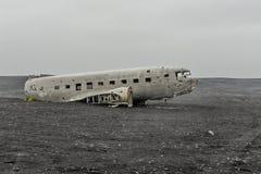 IJsland - MÃ ½ rdalssandur lavawoestijn Royalty-vrije Stock Foto