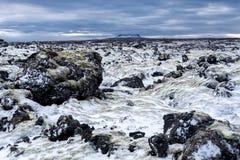 IJsland, Mooi noordpoollandschap, aard Royalty-vrije Stock Afbeeldingen