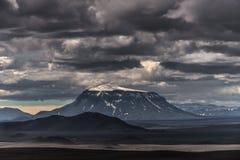 IJsland, noordoostelijk gebied Royalty-vrije Stock Afbeeldingen