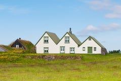 Ijslands huis Royalty-vrije Stock Afbeeldingen