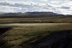 Ijslands Landschap Stock Foto