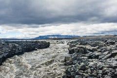 Ijslandse rivier Royalty-vrije Stock Fotografie