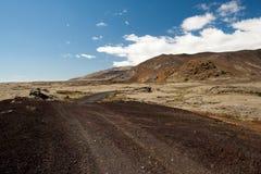 Ijslandse route Stock Foto's